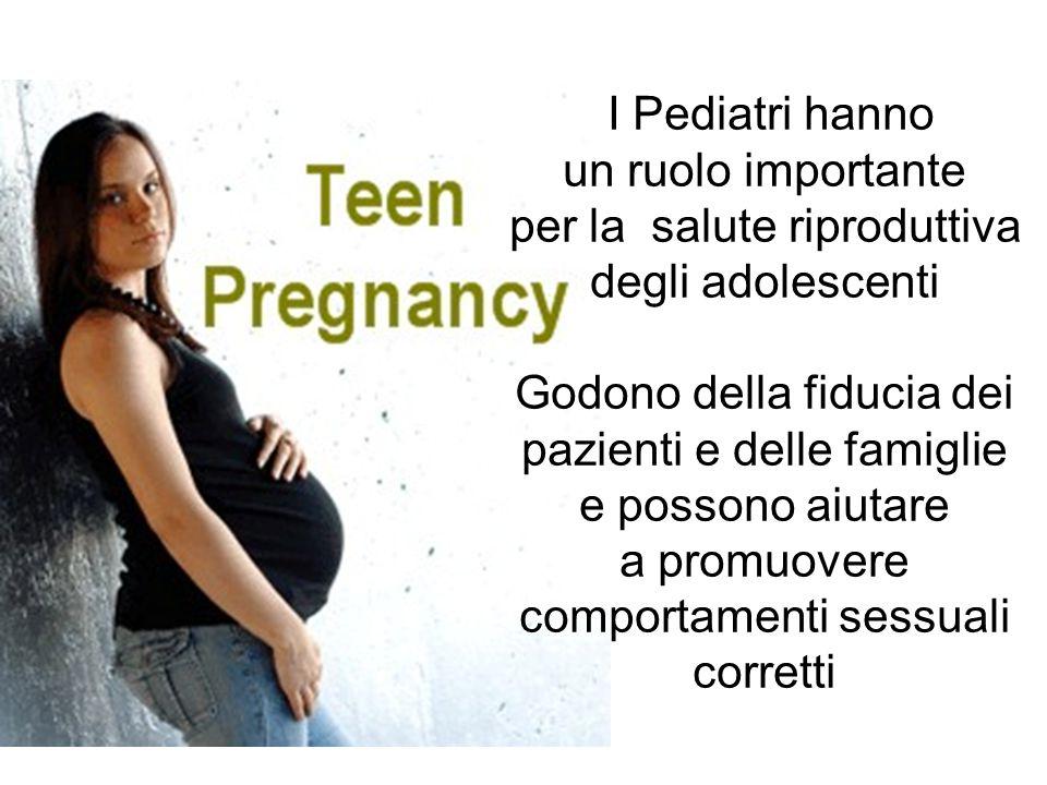 per la salute riproduttiva degli adolescenti