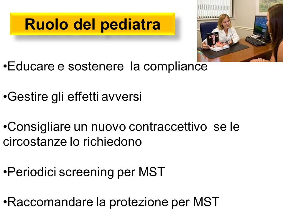 Ruolo del pediatra Educare e sostenere la compliance