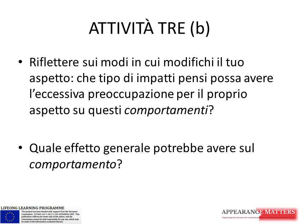 ATTIVITÀ TRE (b)