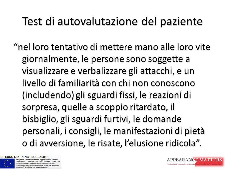 Test di autovalutazione del paziente
