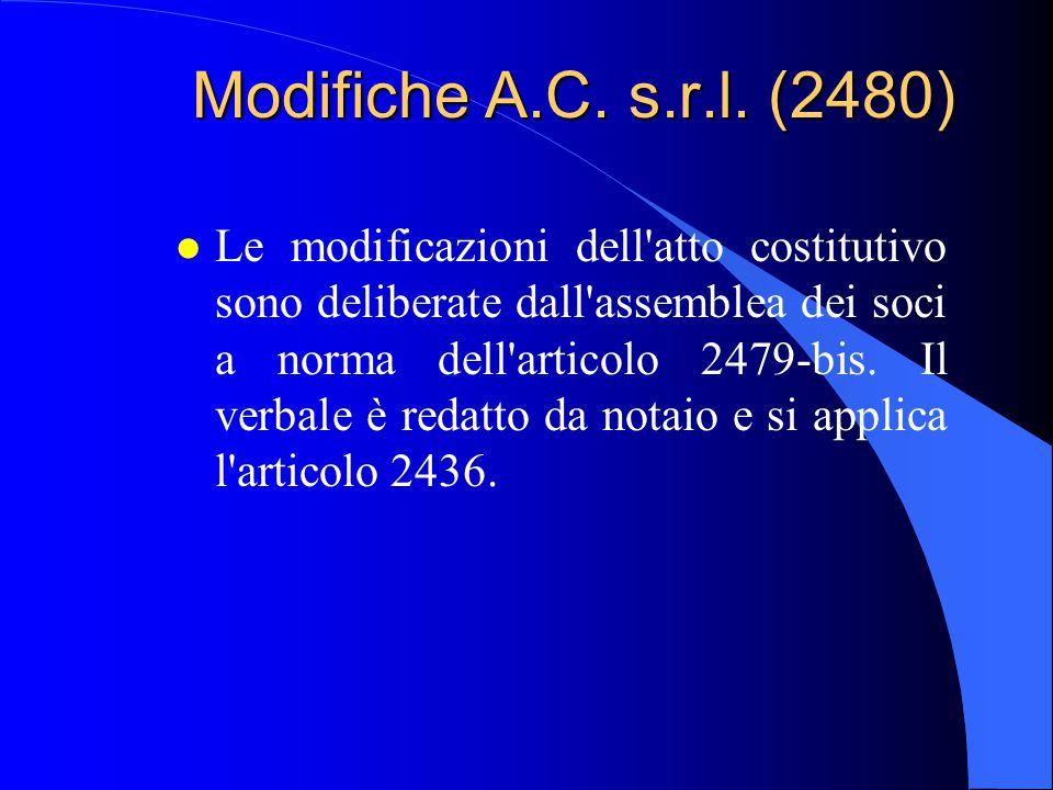 Modifiche A.C. s.r.l. (2480)