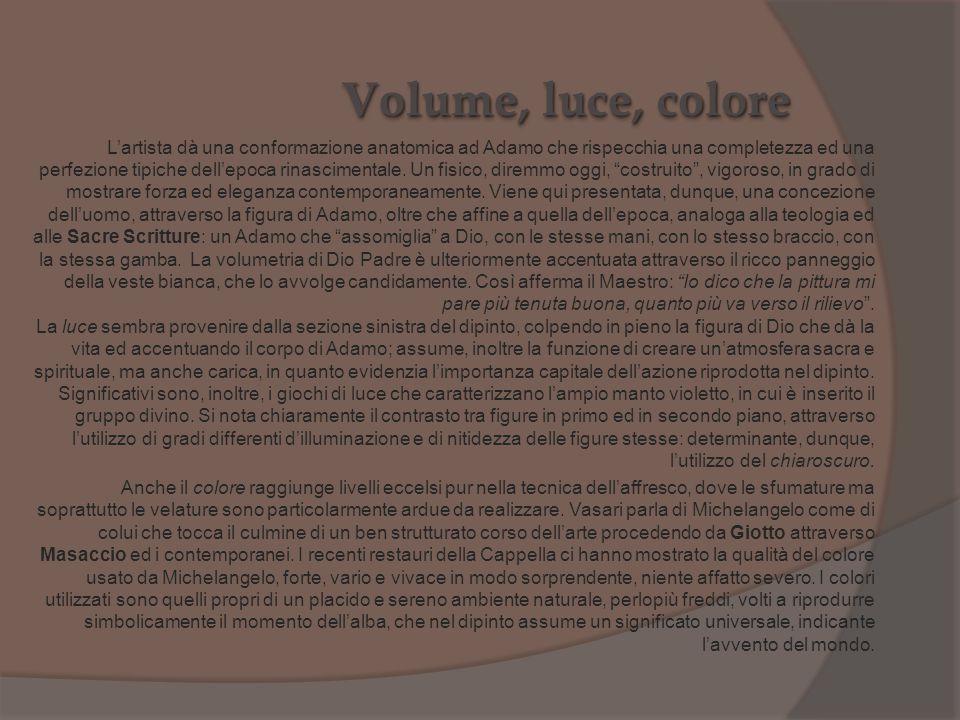 Volume, luce, colore