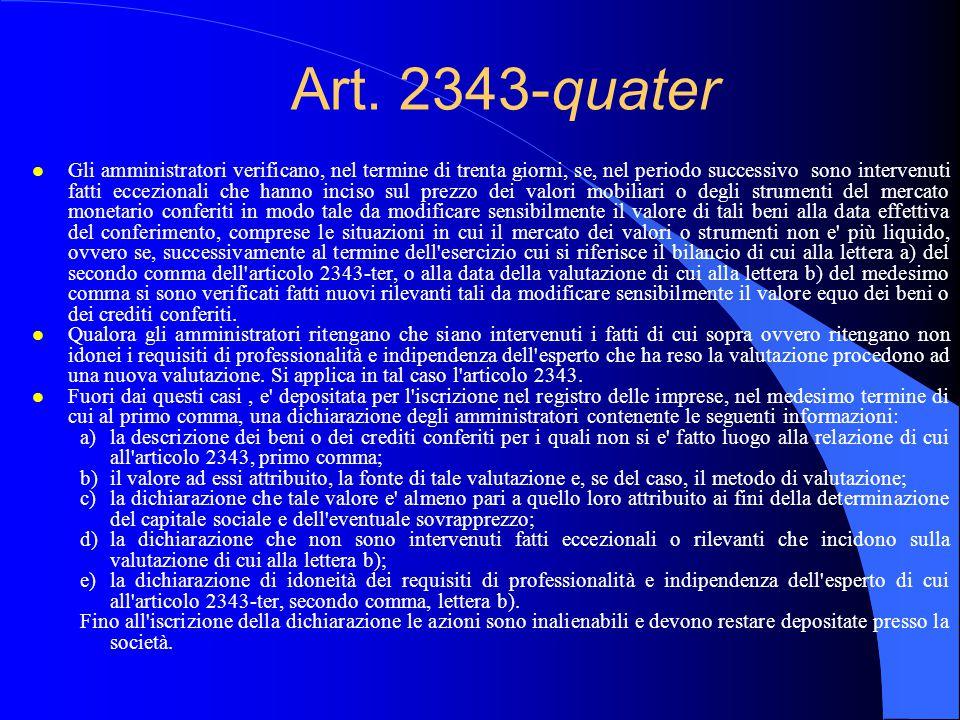 Art. 2343-quater