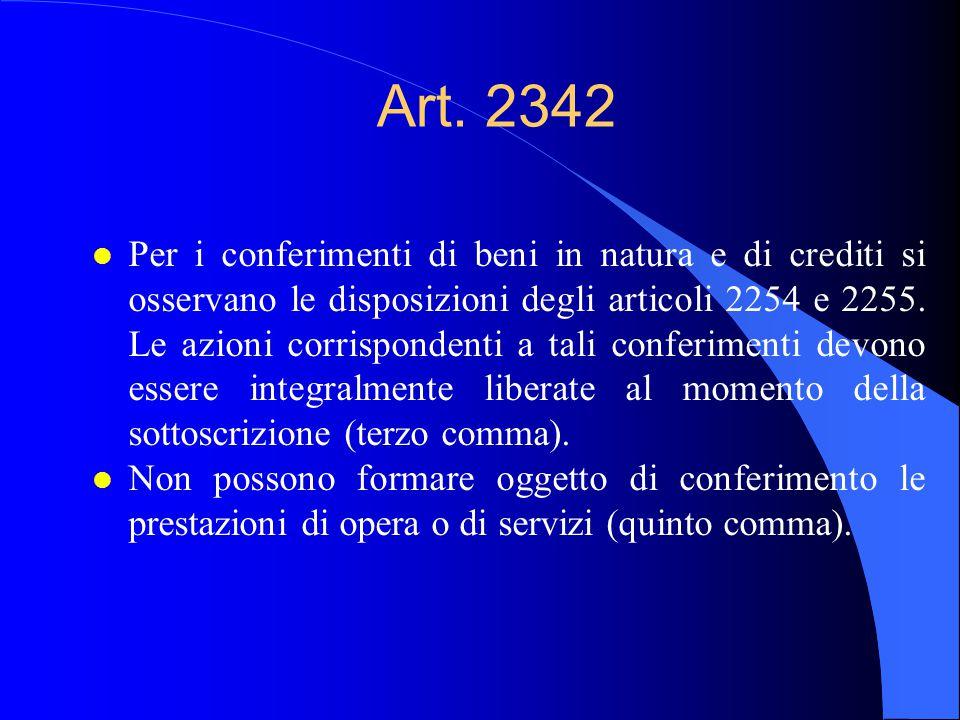 Art. 2342