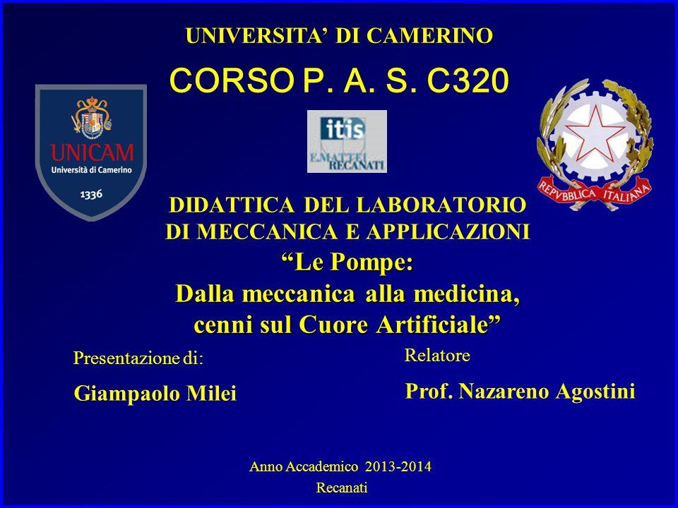 UNIVERSITA' DI CAMERINO