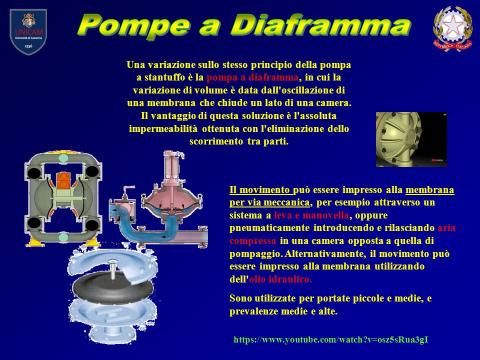 Pompe a Diaframma