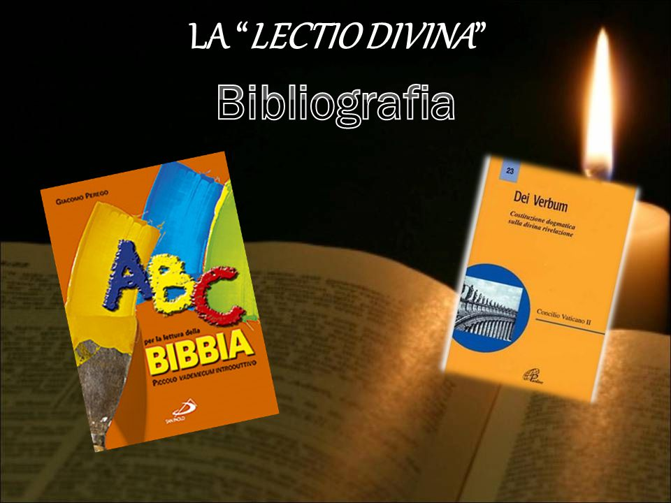 LA LECTIO DIVINA Bibliografia