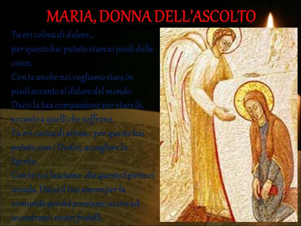 MARIA, DONNA DELL'ASCOLTO