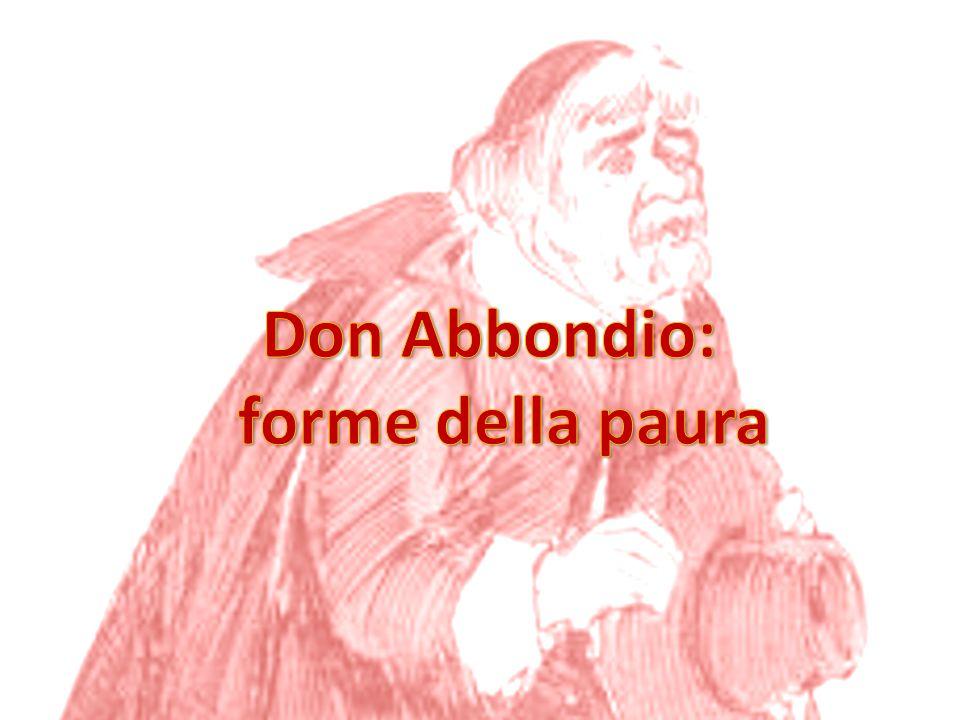 Don Abbondio: forme della paura