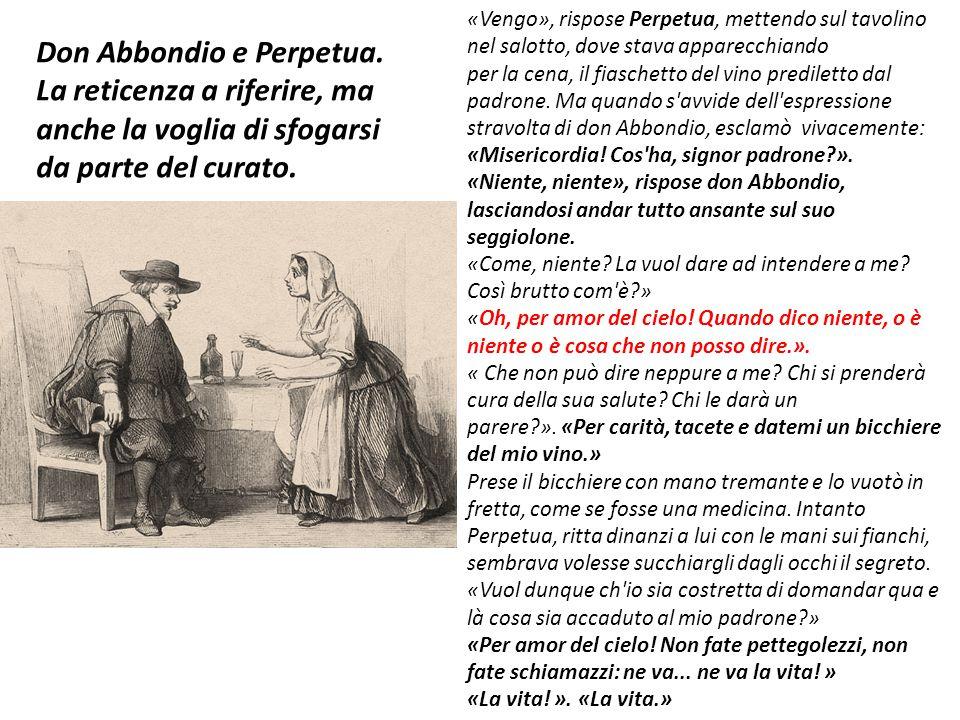 Don Abbondio e Perpetua.