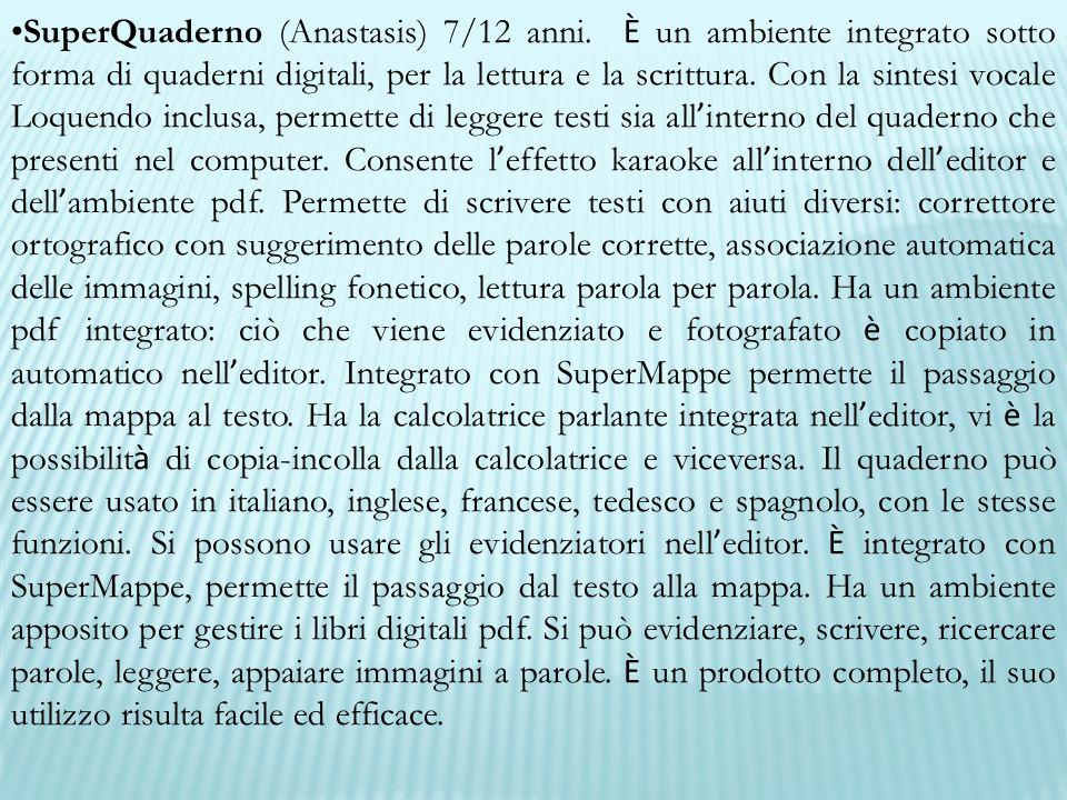 SuperQuaderno (Anastasis) 7/12 anni
