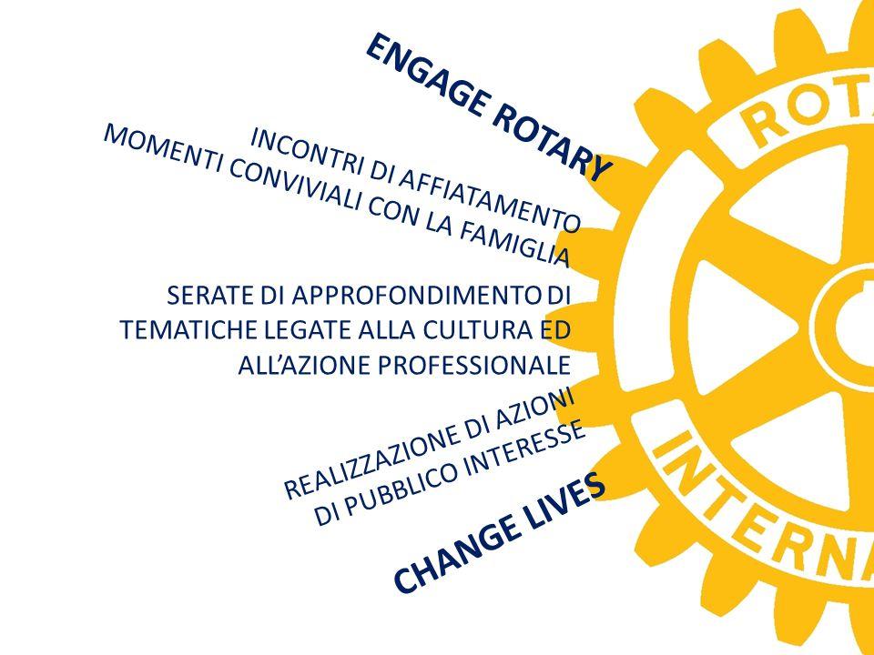ENGAGE ROTARY CHANGE LIVES MOMENTI CONVIVIALI CON LA FAMIGLIA
