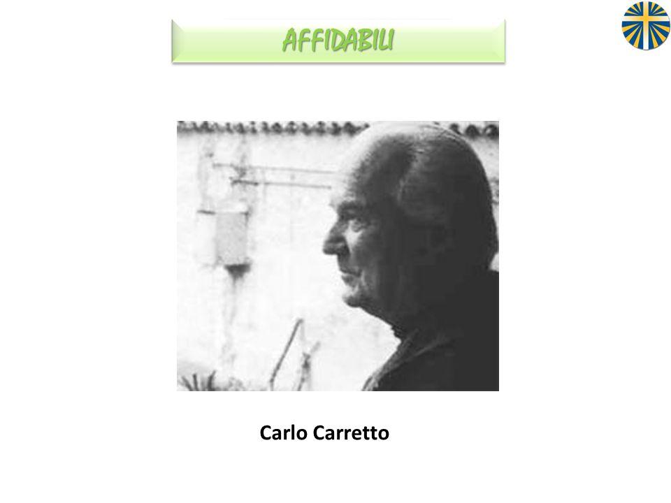 AFFIDABILI Carlo Carretto