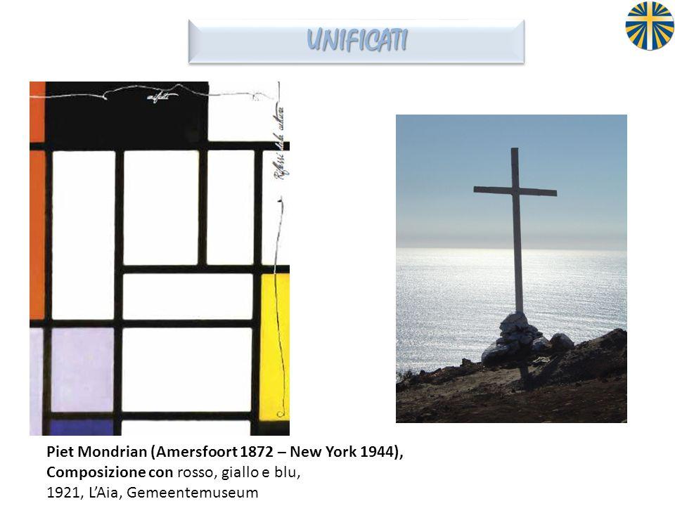 UNIFICATI Piet Mondrian (Amersfoort 1872 – New York 1944), Composizione con rosso, giallo e blu, 1921, L'Aia, Gemeentemuseum.