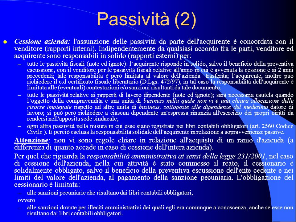 Passività (2)