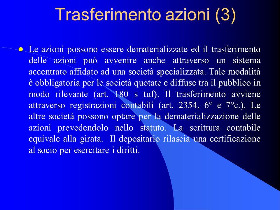 Trasferimento azioni (3)