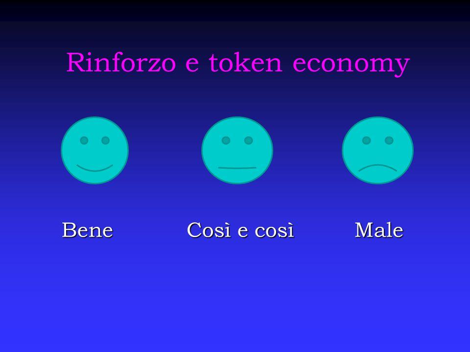 Rinforzo e token economy