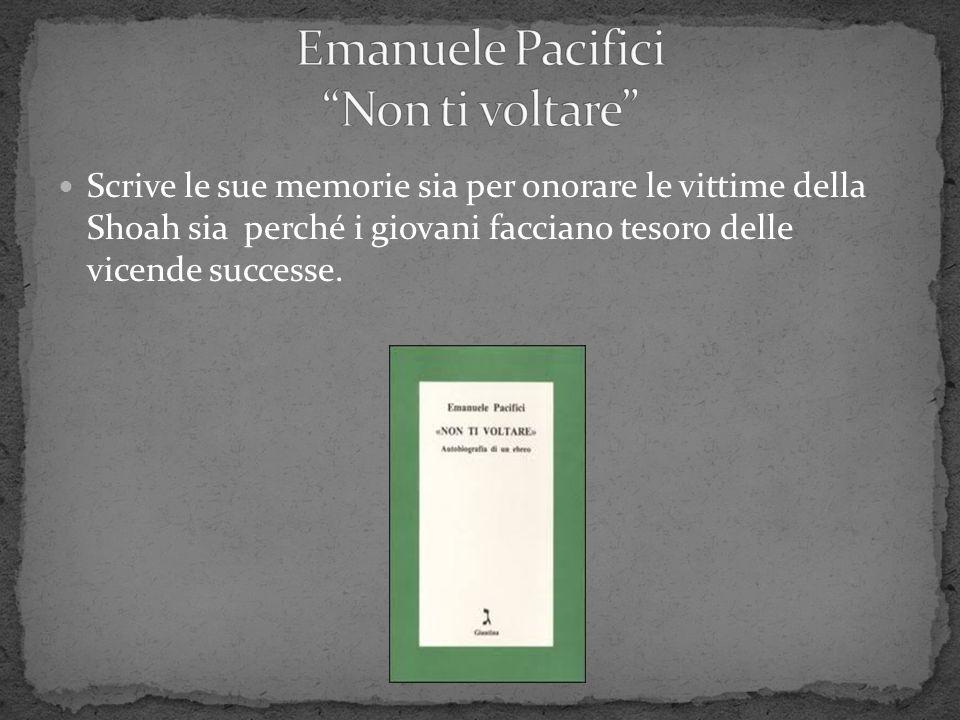 Emanuele Pacifici Non ti voltare