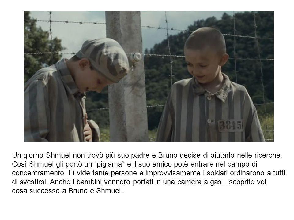 Un giorno Shmuel non trovò più suo padre e Bruno decise di aiutarlo nelle ricerche.