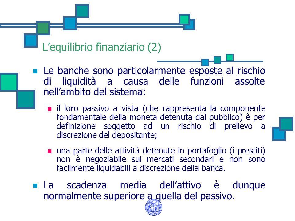 L'equilibrio finanziario (2)