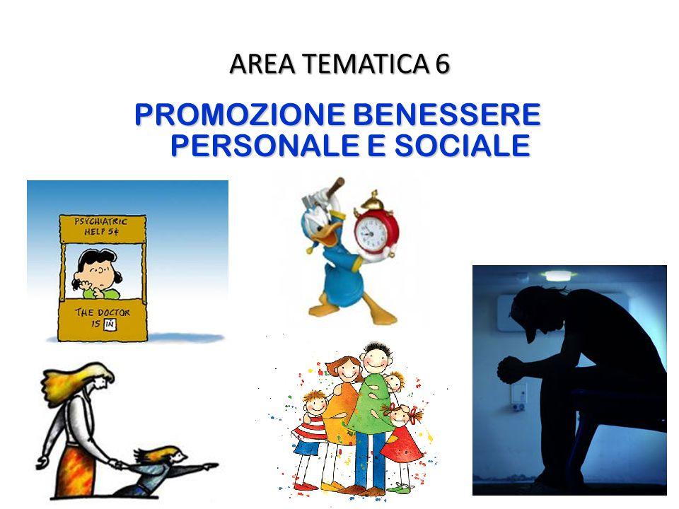 PROMOZIONE BENESSERE PERSONALE E SOCIALE