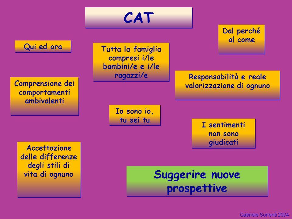 CAT Suggerire nuove prospettive Dal perché al come Qui ed ora
