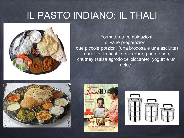 IL PASTO indiano: Il thali