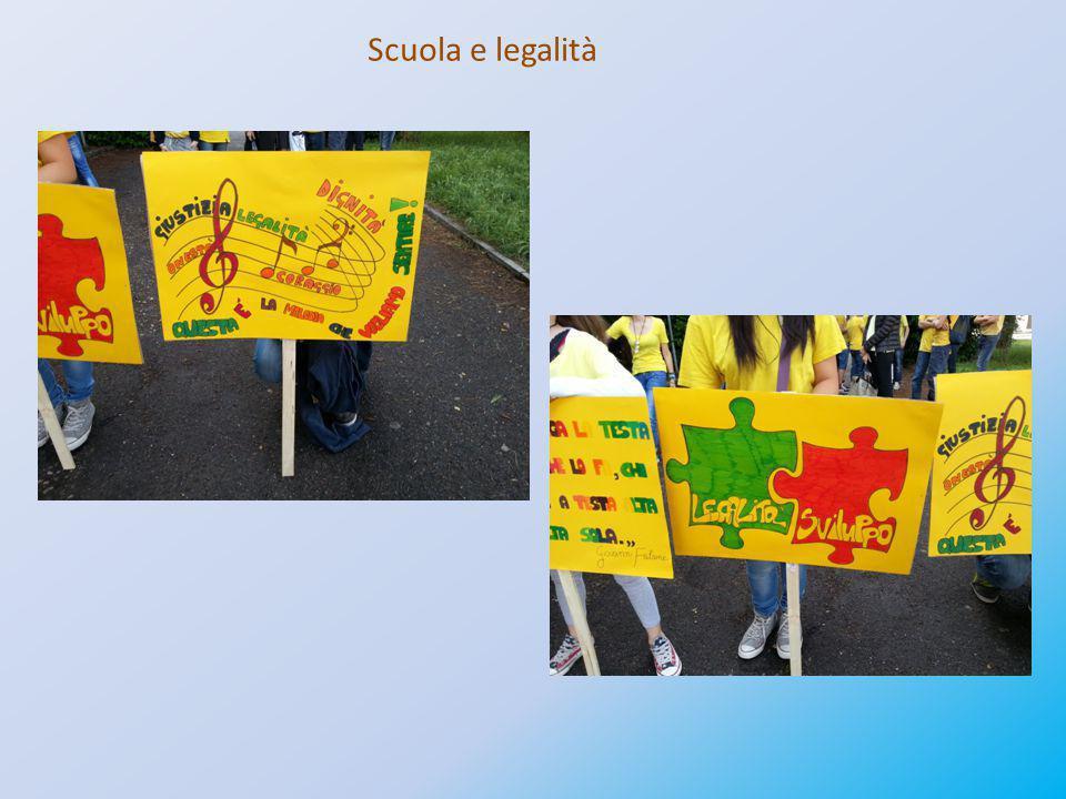 Scuola e legalità
