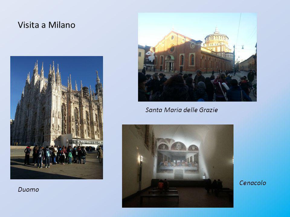 Visita a Milano Santa Maria delle Grazie Cenacolo Duomo