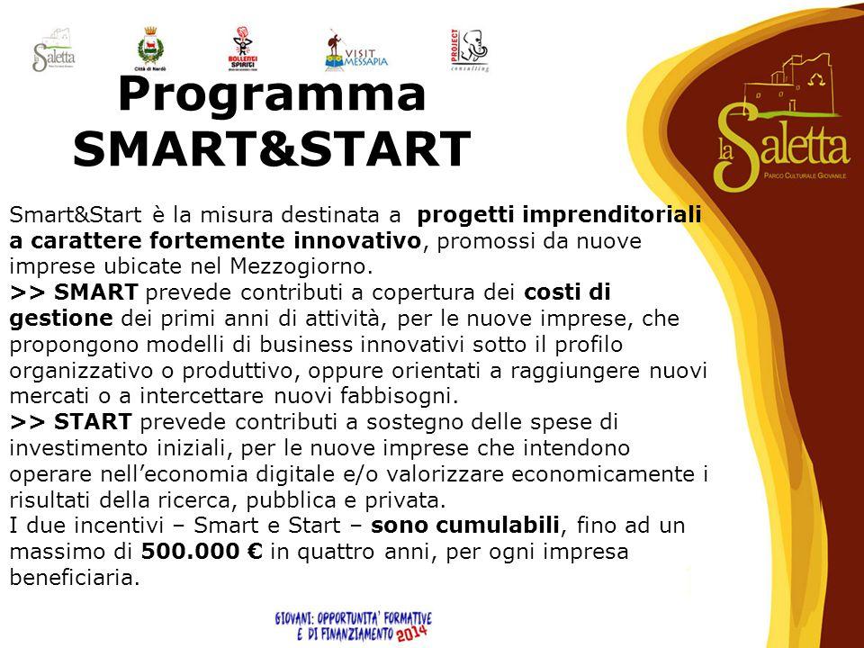 Programma SMART&START