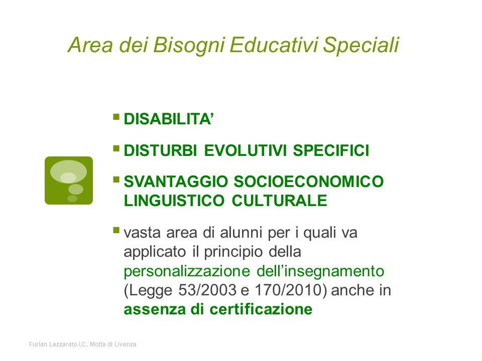 Area dei Bisogni Educativi Speciali