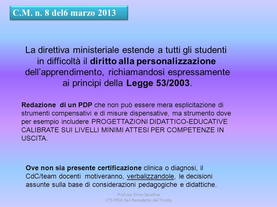La direttiva ministeriale estende a tutti gli studenti