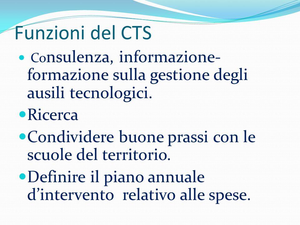Funzioni del CTS Ricerca