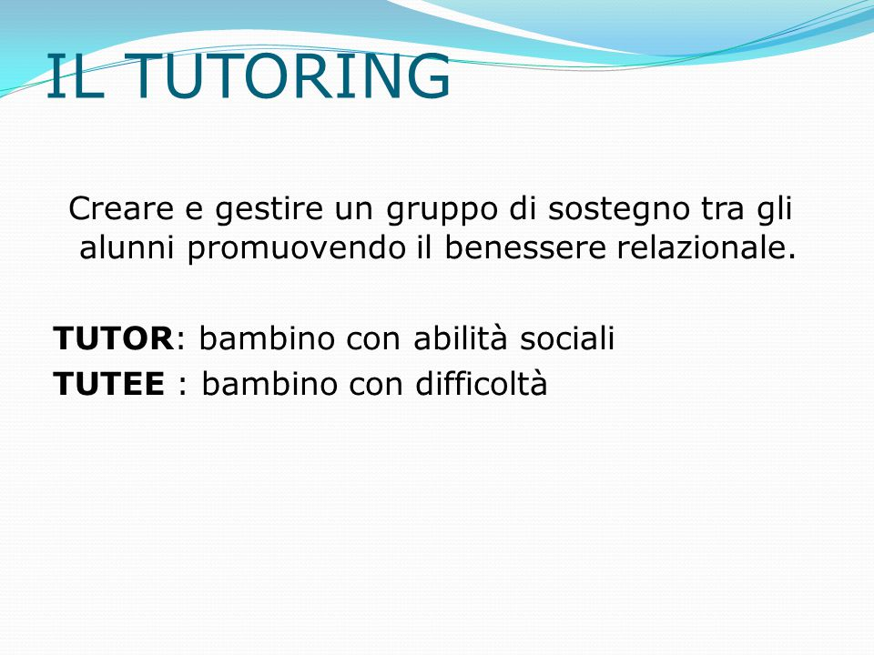 IL TUTORING