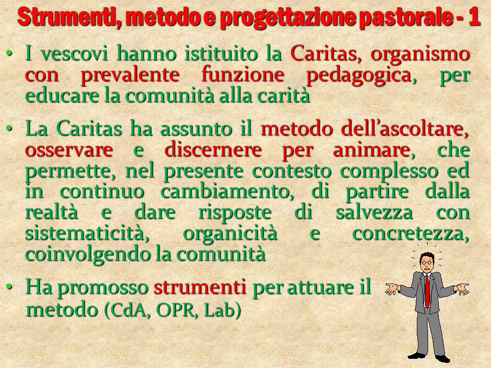 Strumenti, metodo e progettazione pastorale - 1