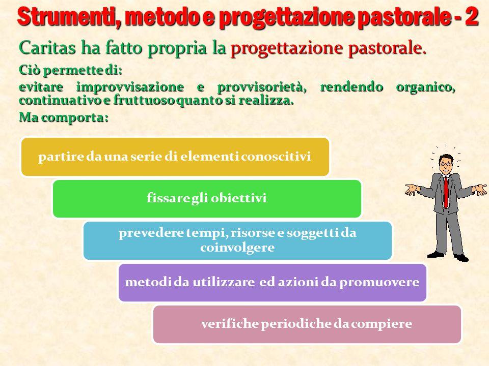 Strumenti, metodo e progettazione pastorale - 2
