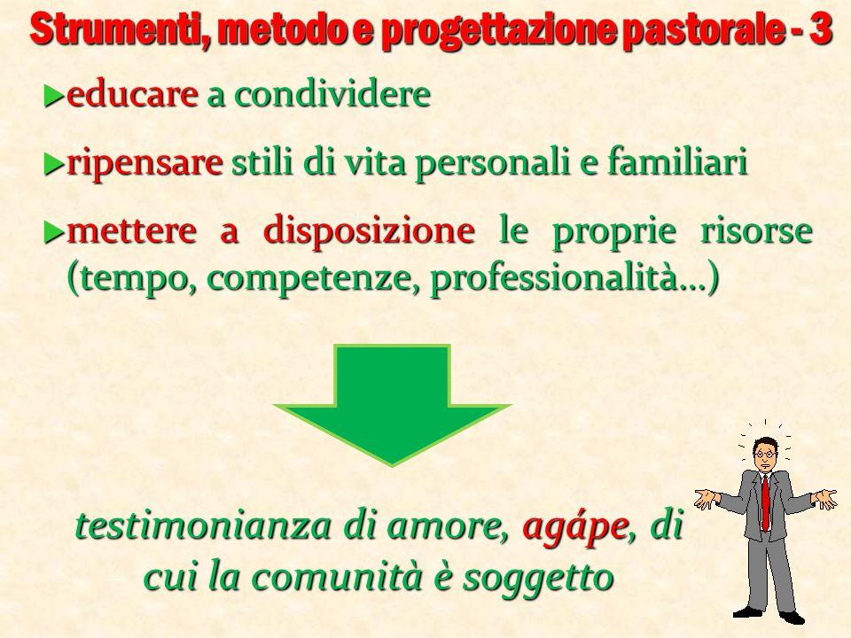Strumenti, metodo e progettazione pastorale - 3