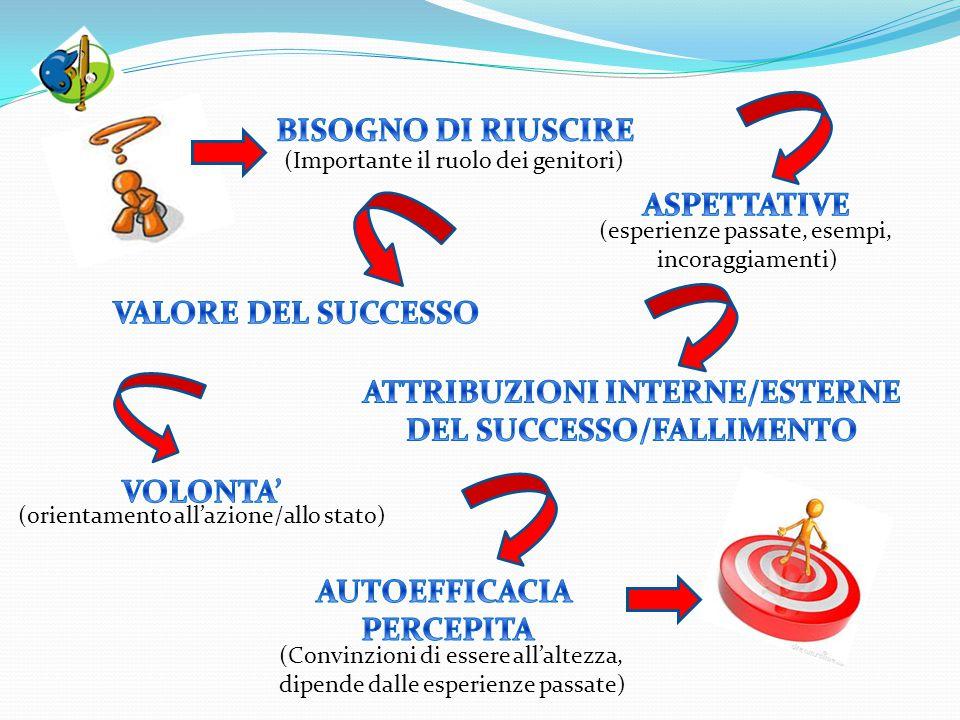 ATTRIBUZIONI INTERNE/ESTERNE DEL SUCCESSO/FALLIMENTO