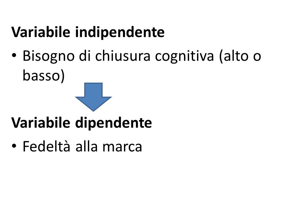 Variabile indipendente