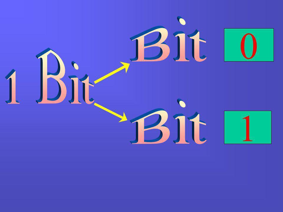 Bit 1 Bit Bit 1