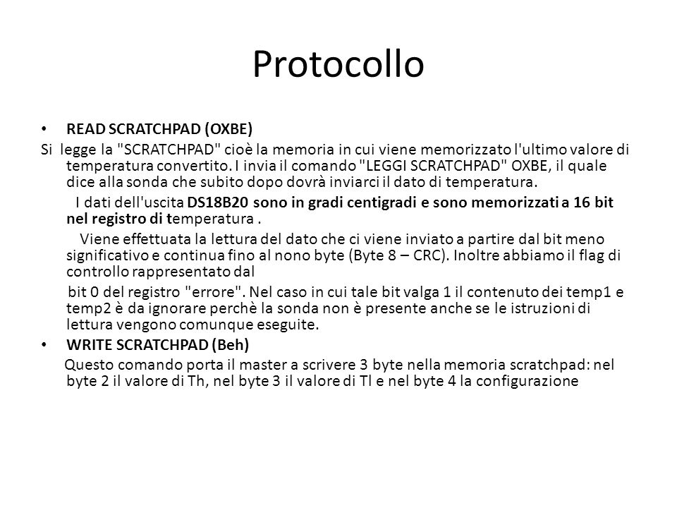 Protocollo READ SCRATCHPAD (OXBE)