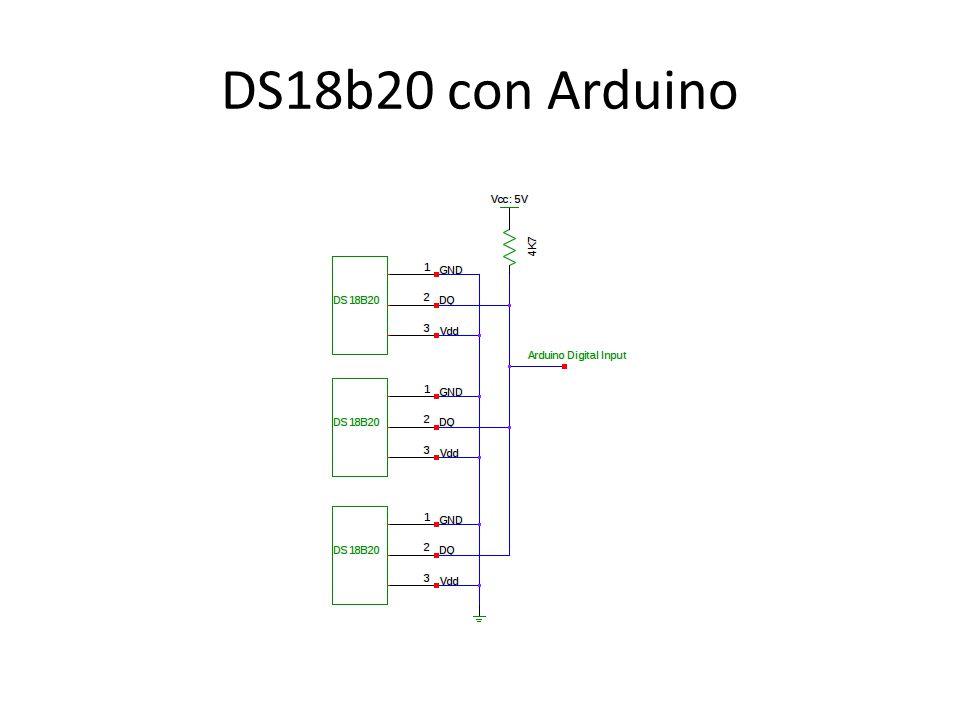 DS18b20 con Arduino