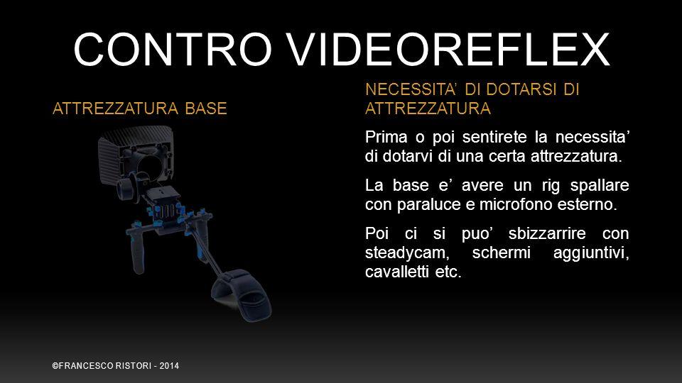 CONTRO Videoreflex ATTREZZATURA BASE