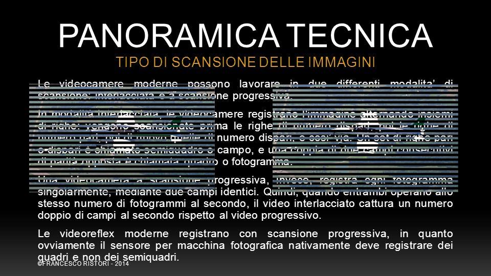 TIPO DI SCANSIONE DELLE IMMAGINI
