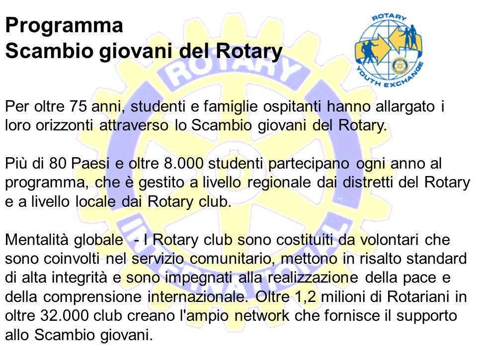 Scambio giovani del Rotary
