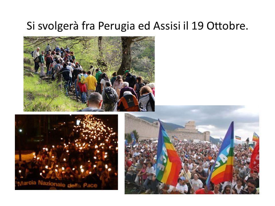 Si svolgerà fra Perugia ed Assisi il 19 Ottobre.