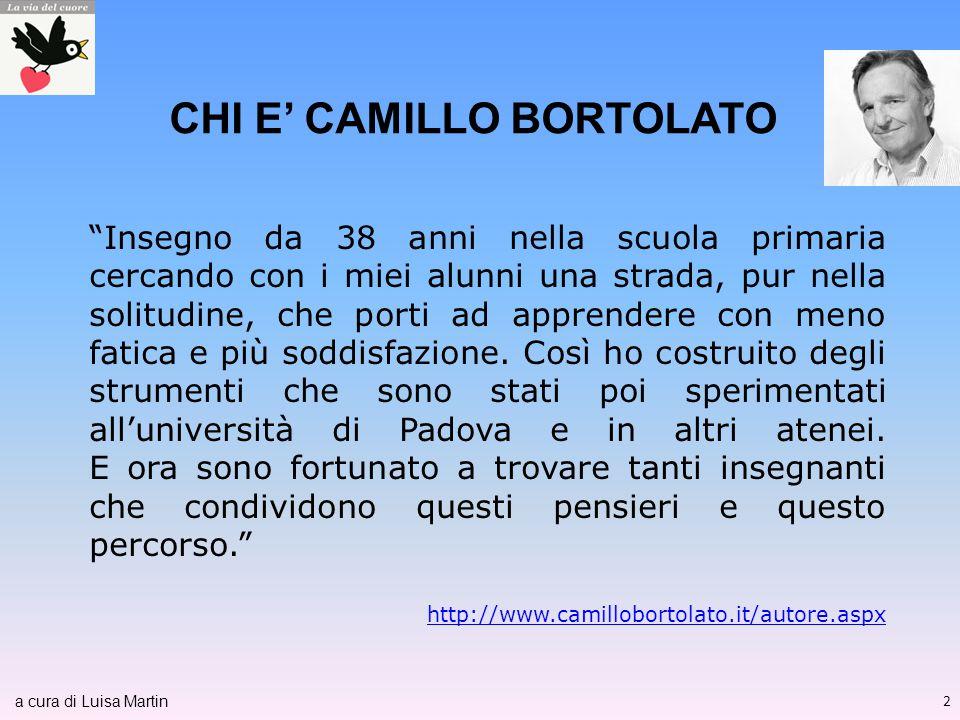 CHI E' CAMILLO BORTOLATO