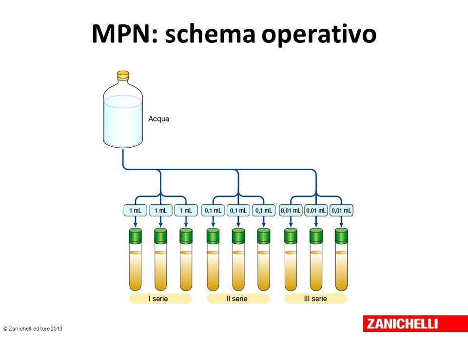 MPN: schema operativo