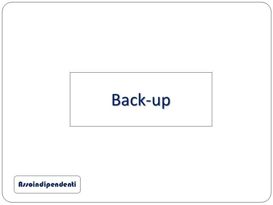 Back-up Assoindipendenti