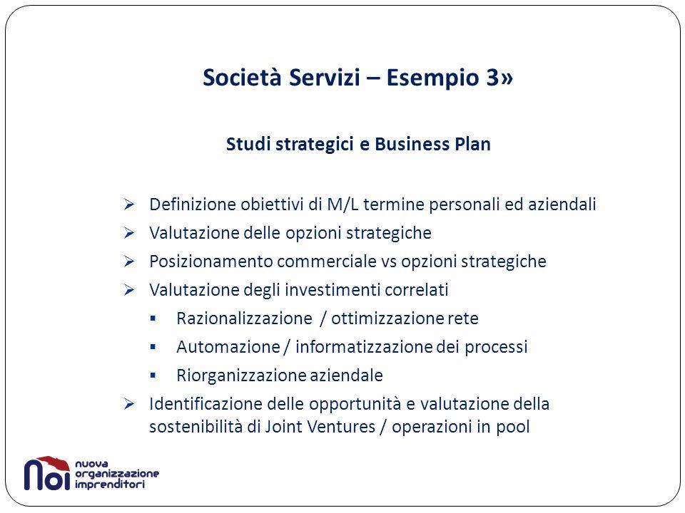 Società Servizi – Esempio 3»